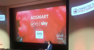 Pat Kiely, Managing Director of Virgin Media Television speaking at Connected TV World Summit 2019