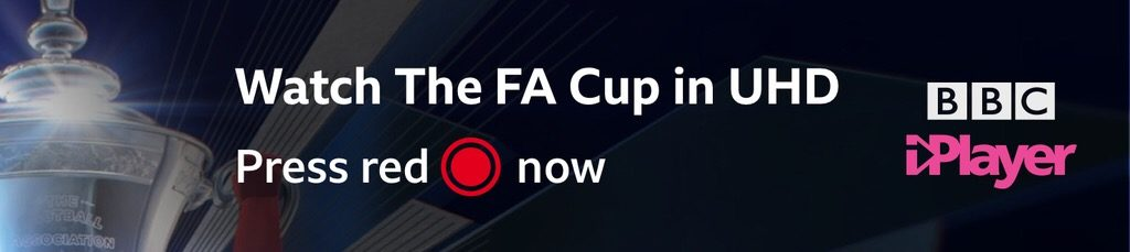 BBC watch the FA Cup in Ultra HD
