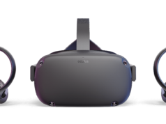 Picture of the Oculus Quest standalone VR headset
