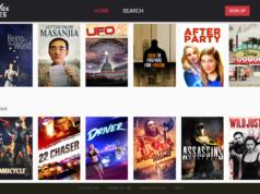 Gravitas Movies SVOD service screenshot