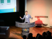 Ampere Analysis' Richard Broughton speaking at the Connected TV World Summit